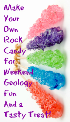 Mini Me Geology Blog 187 Growing Rock Candy Crystals A