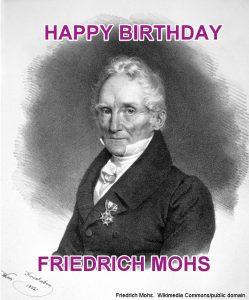 Friedrich Mohs Birthday