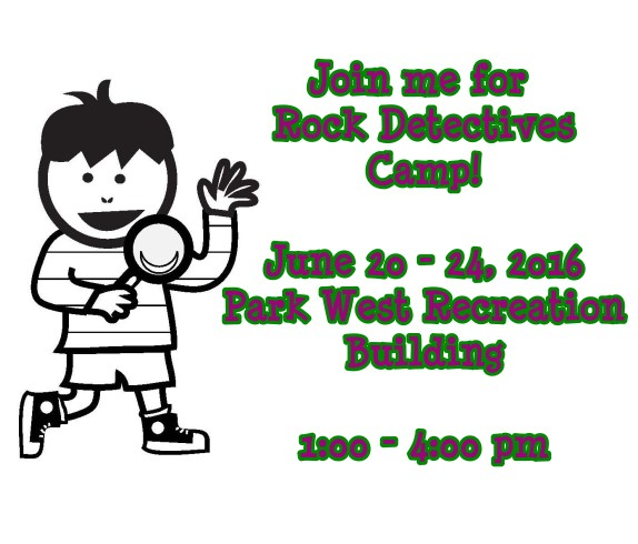 Rock Detectives Camp 2016 image