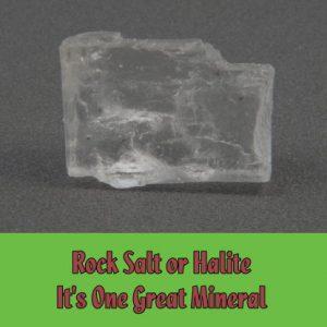 Rock Salt or Halite Mineral