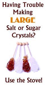 Sugar Stove Crystals