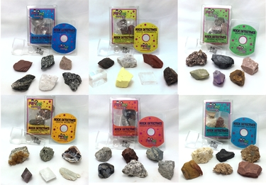 Rock Detectives Kits with E-books - Save on Full Set