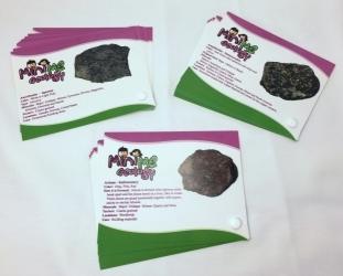 Igneous, Metamorphic and Sedimentary Rock Sample Identification Cards