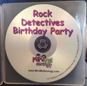 Rock Detectives Birthday Party CD (free for party orders over $200)