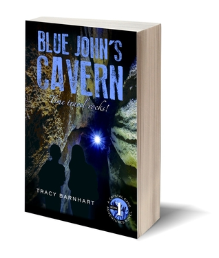 Blue John's Cavern, Crystal Cave Adventures Book #1 - Signed Copy!