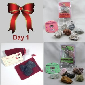1st Day: Mineral Mission, Igneous Investigation & Santa's Coal