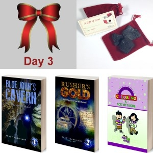 3rd Day: Crystal Cave Adventures Books 1 & 2, Coloring Book and Santa's Coal