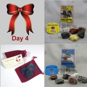 4th Day: Metamorphic Mystery, Crystal Experiments & Santa's Coal