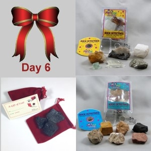 6th Day: Crystal Geometry, Sedimentary Sleuthing & Santa's Coal