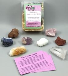 Natural Chakra Crystals - Genuine Healing Stones