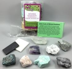 Mineral Observation, Hardness & Streak Testing Kit