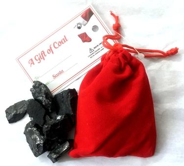 Santa's Coal Stocking Stuffer