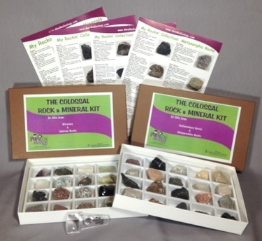 Image The Colossal Rock and Mineral Kit