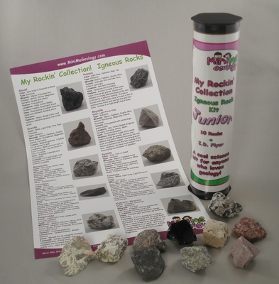 Image 3 My Rockin Collection Junior Igneous Rock Kit