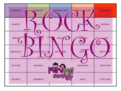 Rock Bingo Game | Books & Resources