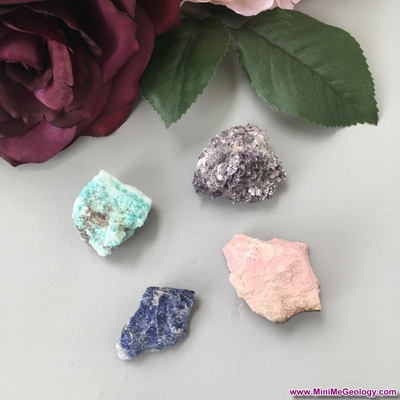 Stress Relief Metaphysical Crystal Set - Natural Healing Crystals for Mind/Body | Metaphysical Chakra Stones