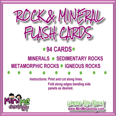 Rock & Mineral Flash Cards | Teaching & Homeschcool Resources