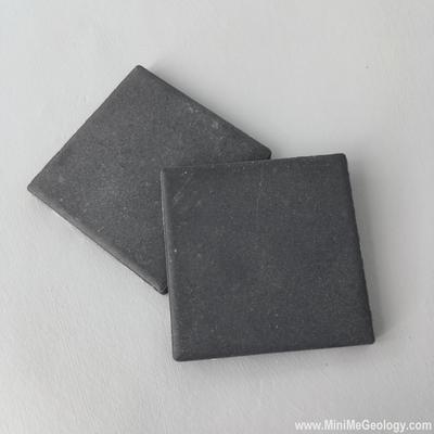 Black Streak Plate for Mineral Identification – Mini Me Geology