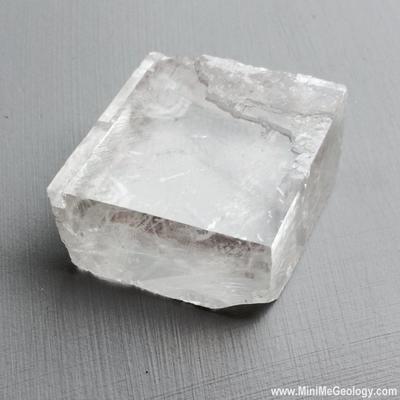 Iceland Spar Calcite Mineral - Mini Me Geology
