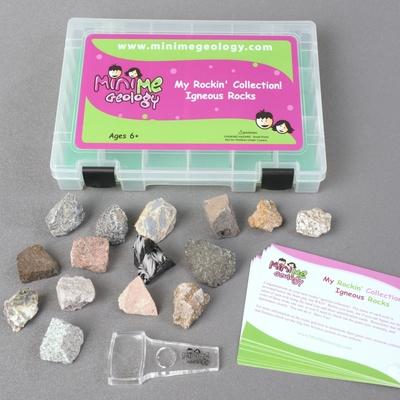 My Rockin Collection Igneous Rock Kit - Mini Me Geology