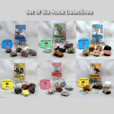 Full Set of Rock Detectives Kits - Mini Me Geology