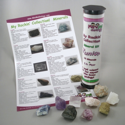 My Rockin Collection Junior Minerals Kit – Mini Me Geology