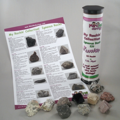 My Rockin Collection Junior Igneous Rocks Kit – Mini Me Geology