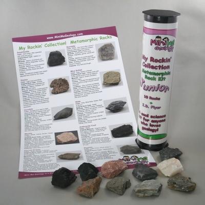 My Rockin Collection Junior Metamorphic Rocks Kit – Mini Me Geology