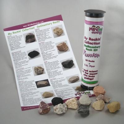 My Rockin Collection Junior Sedimentary Rocks Kit – Mini Me Geology