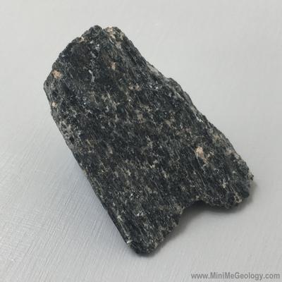 Hornblende Mineral - Mini Me Geology