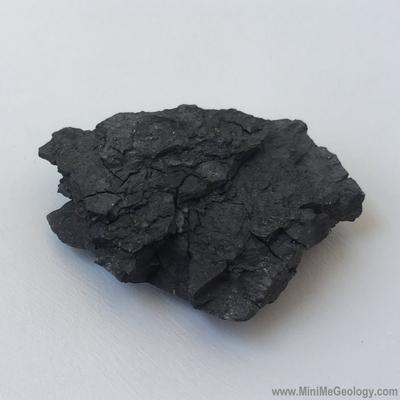 Lignite Coal Sedimentary Rock - Mini Me Geology