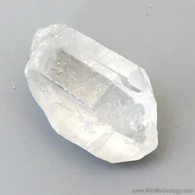 Quartz Crystal Mineral - Single Point - Mini Me Geology