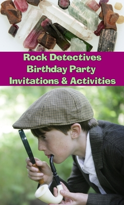 Rock Detectives Geology Birthday Party CD - Mini Me Geology