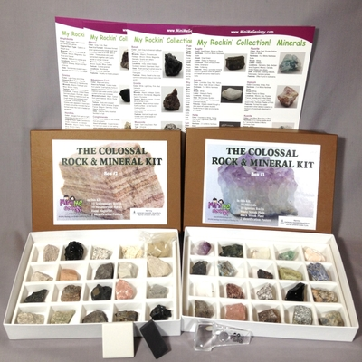 Colossal Rock & Mineral Kit – Mini Me Geology