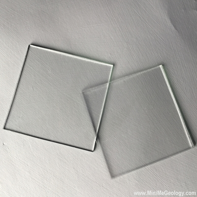 Glass Plate for Mineral Identification - Mini Me Geology