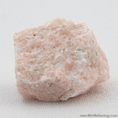 Pink Marble Metamorphic Rock - Mini Me Geology