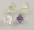 Fluorite Octahedron Mineral Crystal