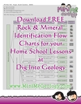 Print Free Rock & Mineral Identification Flow Charts