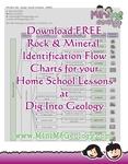 Print Free Rock & Mineral Identification Flow Charts