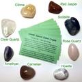 Smooth Chakra Stones - Genuine Healing Crystals