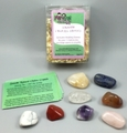 Smooth Chakra Stones - Genuine Healing Crystals