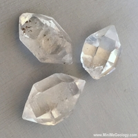"Image Quartz Crystal – Double Point – ""Herkimer Diamond"""