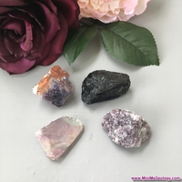 Image Calming Metaphysical Crystal Set - Natural Healing Crystals for Mind and Body