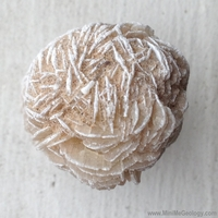 Image Gypsum Rose Mineral