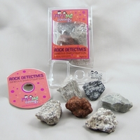 Image Igneous Investigation Rock Detectives Kit with eBook