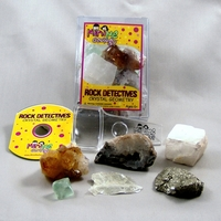Image Crystal Geometry Rock Detectives Kit with eBook