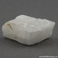 Image Calcite Mineral - White Rhombic