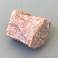 Image Microcline Feldspar Mineral - Pink