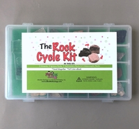 Image The Rock Cycle Kit with Activity eBook - Rock & Mineral Collection