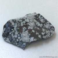 Image Snowflake Obsidian Igneous Rock